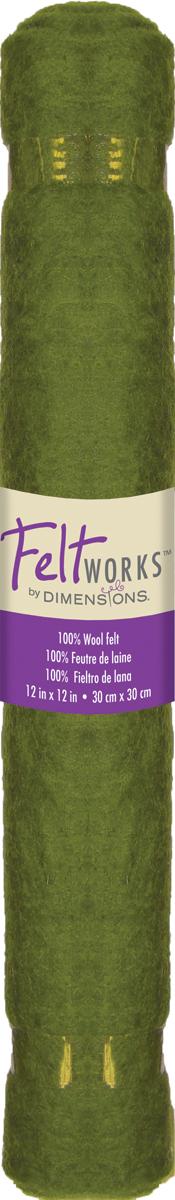 Teal Roll Dimensions Needlecraft Flat Felt Embellishments