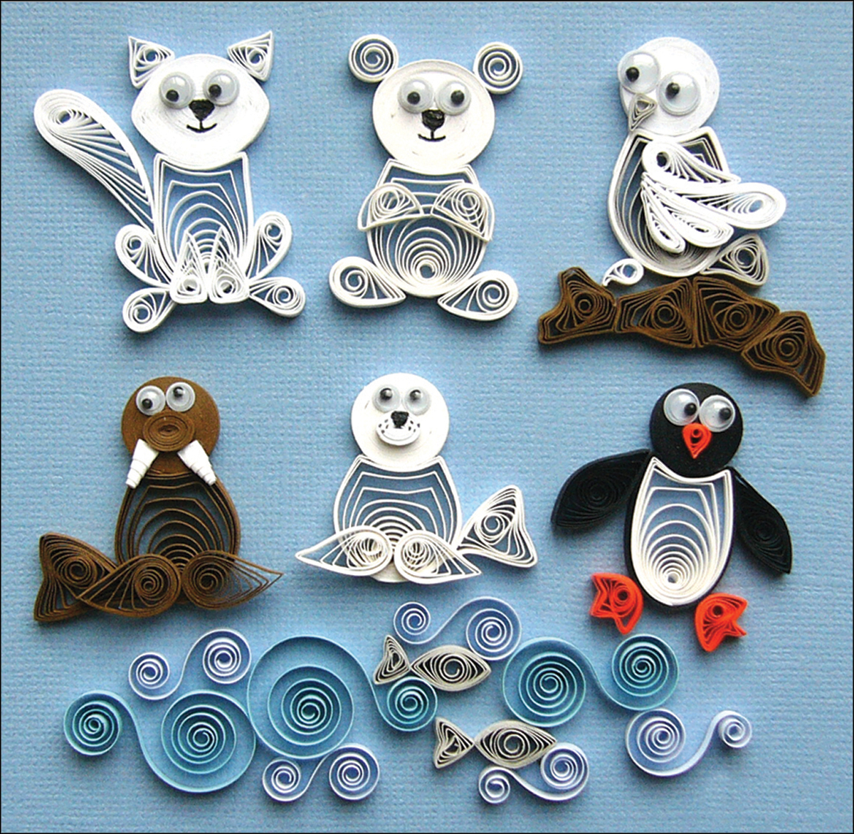Quilling Kit Arctic Buddies