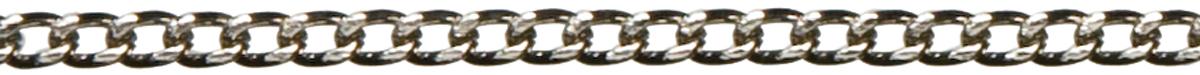 Jewelry Basics Metal Chain 1/Pkg-Silver Small Flat 46