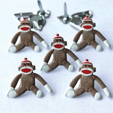 Brads - Sock Monkeys