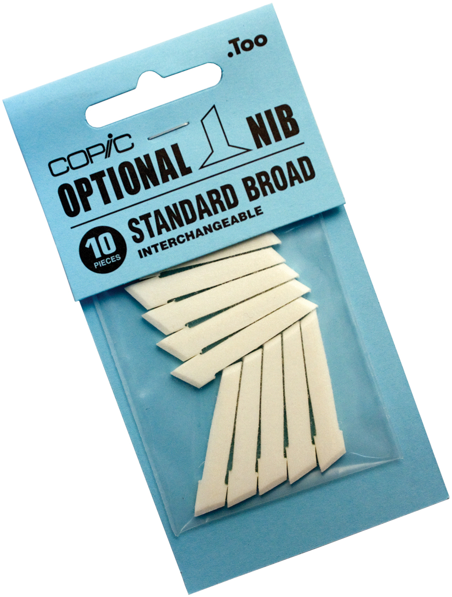 Copic Original Marker Standard Broad Nibs 10/Pkg-