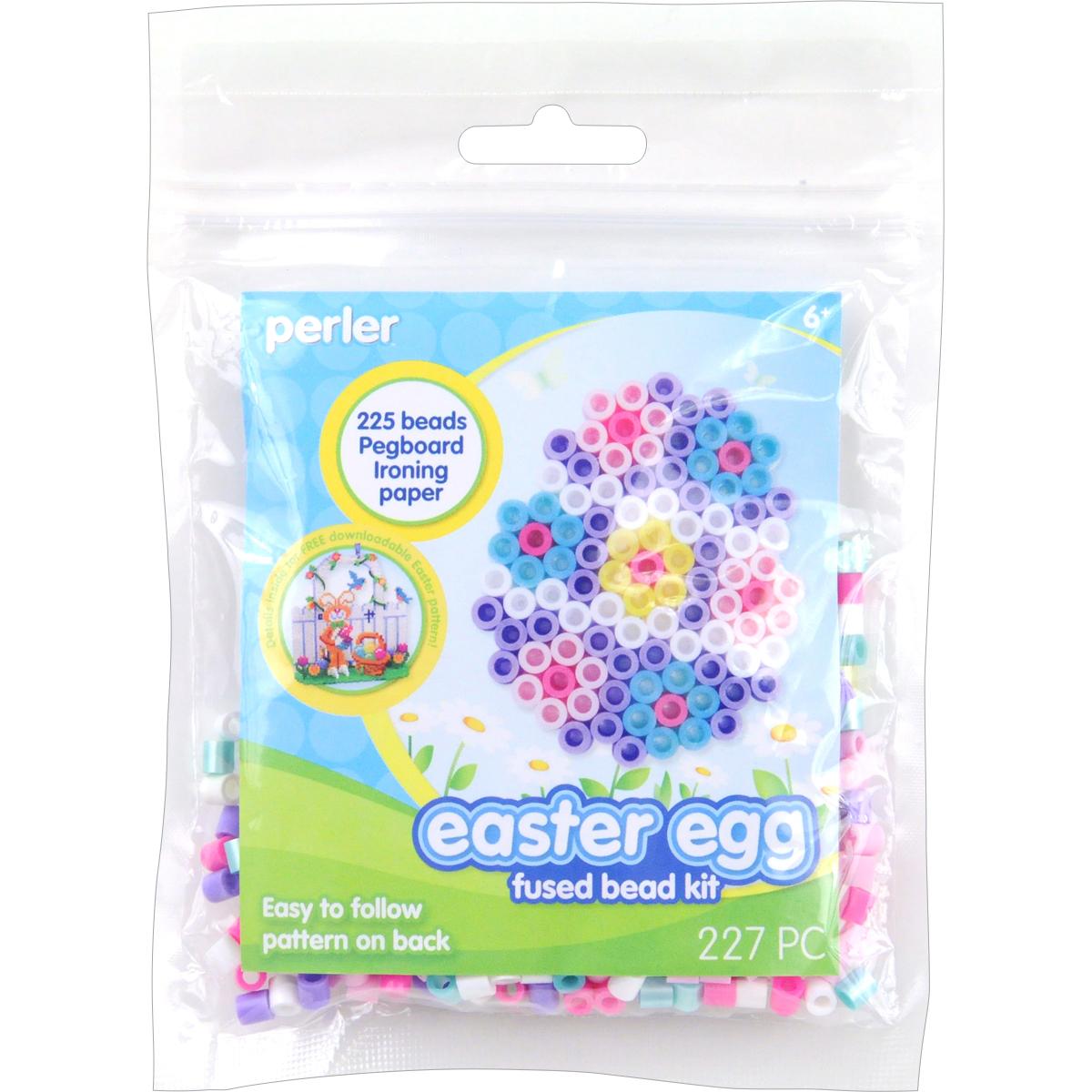 Perler Fused Bead Kit-Easter Egg