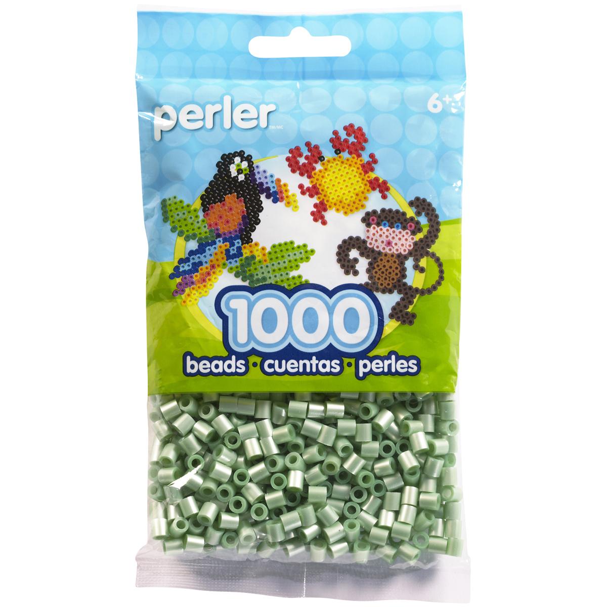 Perler Pearl Beads 1,000/Pkg-Green