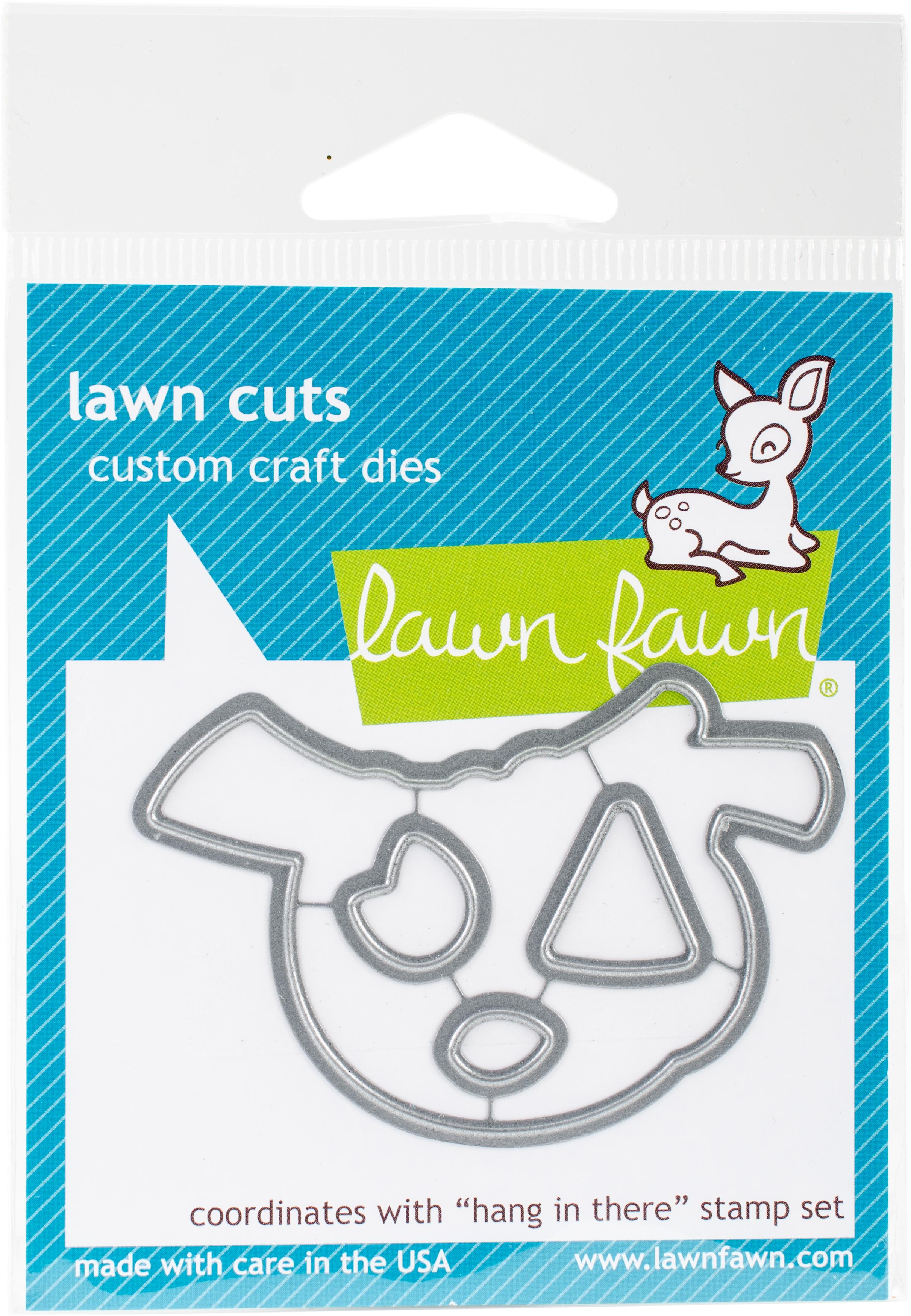 Lawn Cuts Custom Craft Die-Hang In There