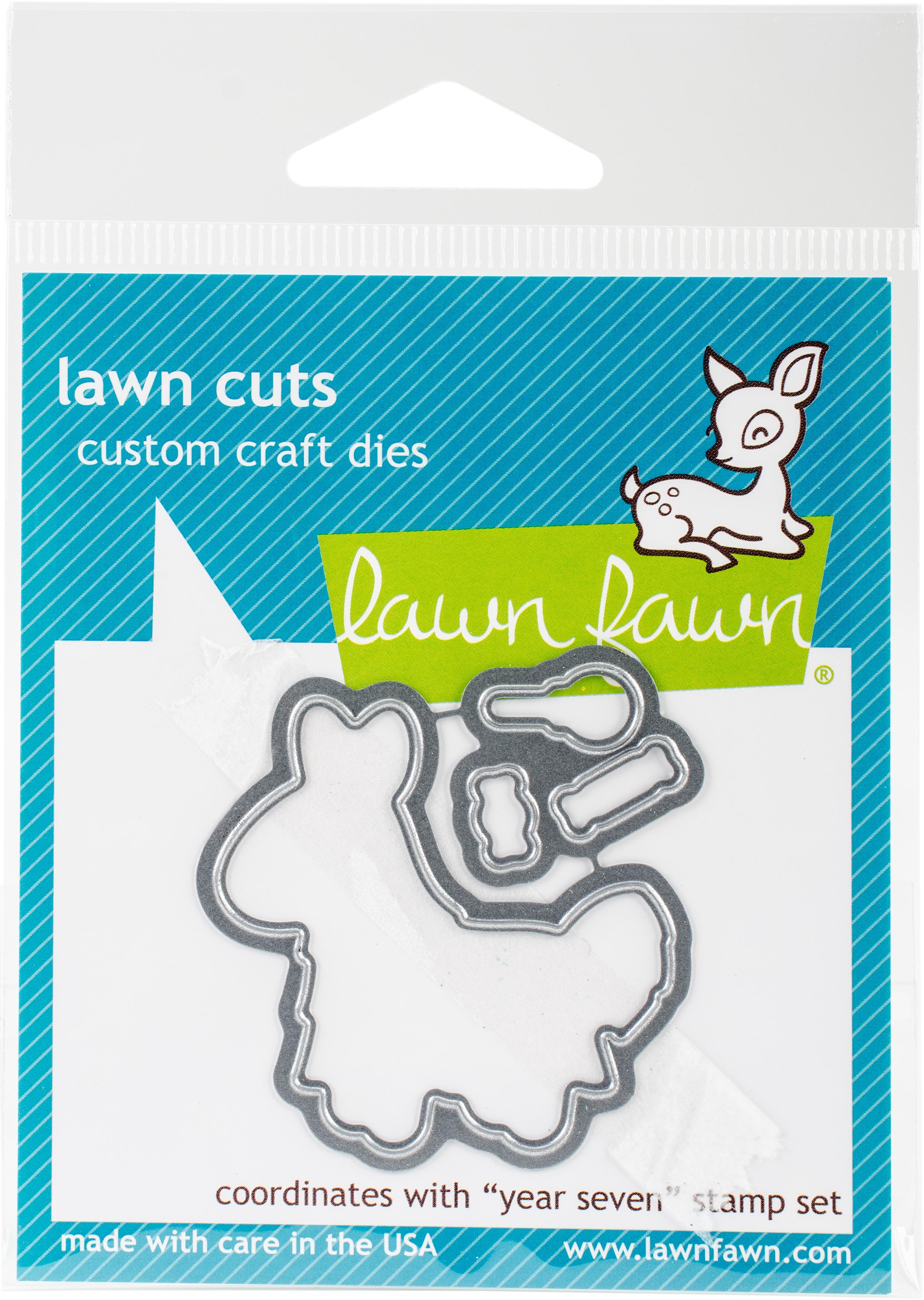 Lawn Cuts Custom Craft Die-Year Seven