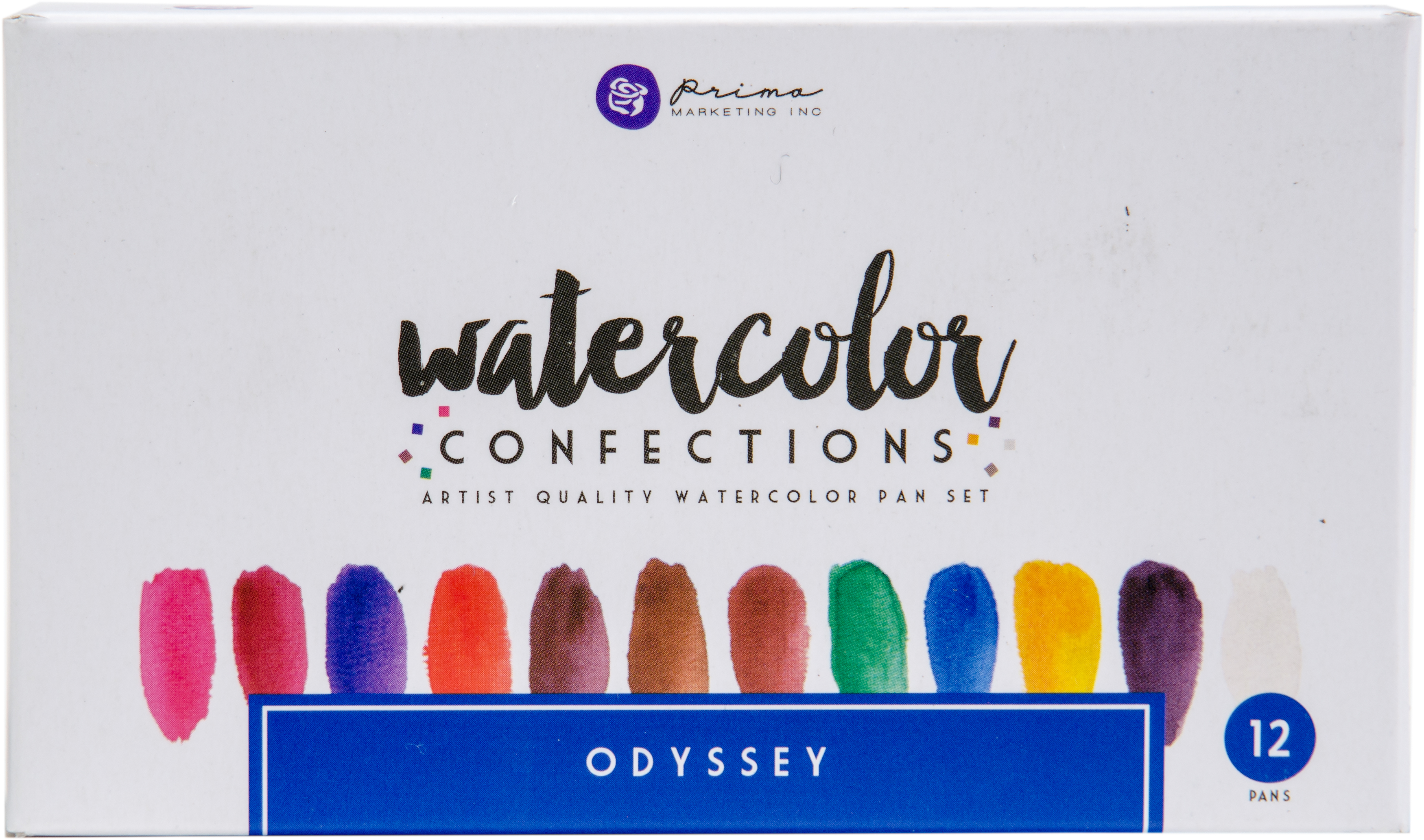 MIXED MEDIA - WATERCOLOR CONFECTIONS ODYSSEY
