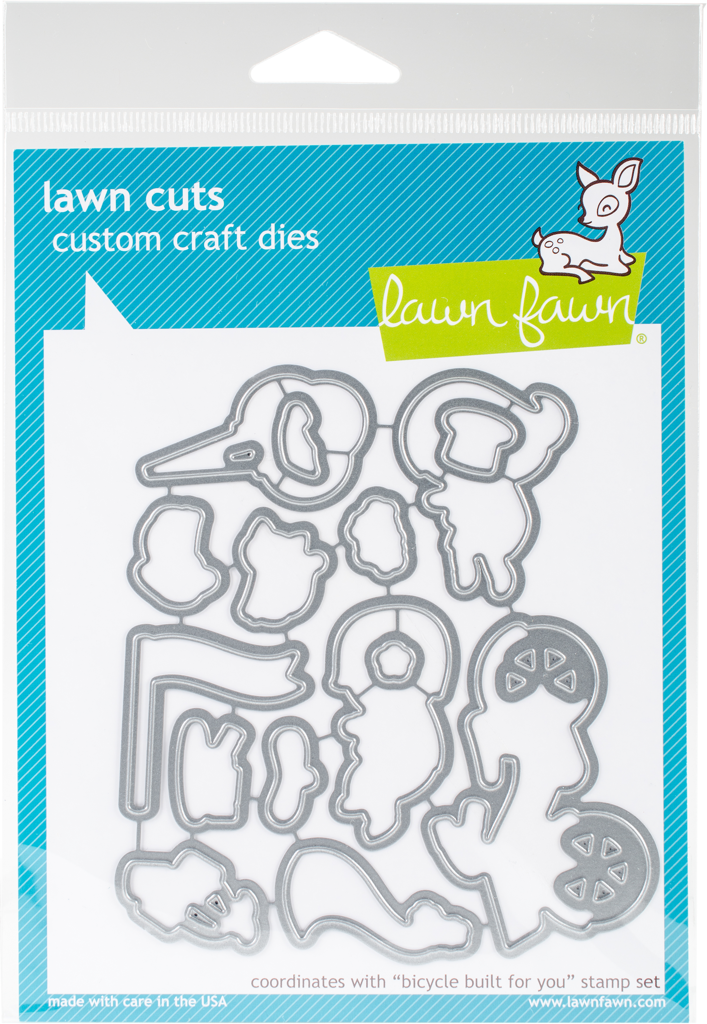 Lawn Cuts Custom Craft Die-Bicycle Built For You