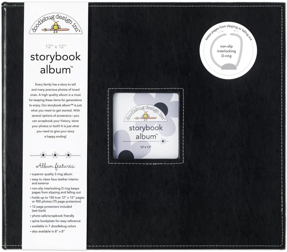 Doodlebug Storybook D-Ring Album 12X12