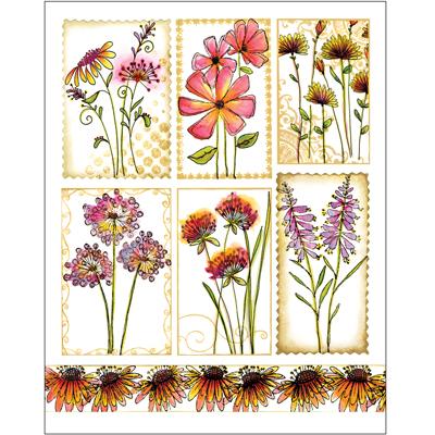 Penny Black Stickers-Garden Poems
