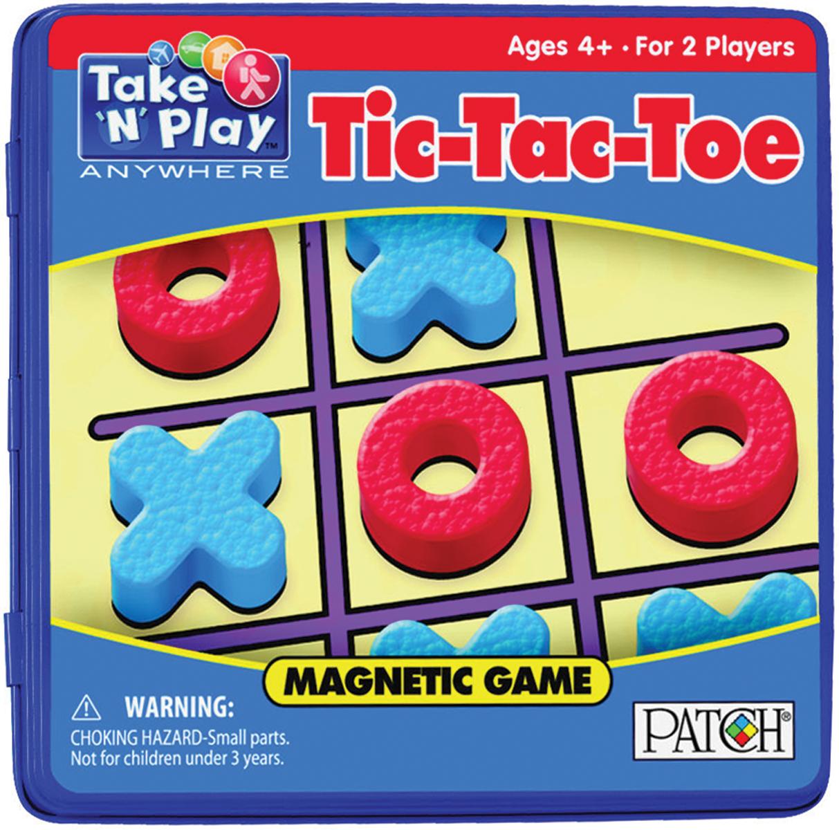 Take 'N' Play Anywhere Magnetic Game-Tic-Tac-Toe