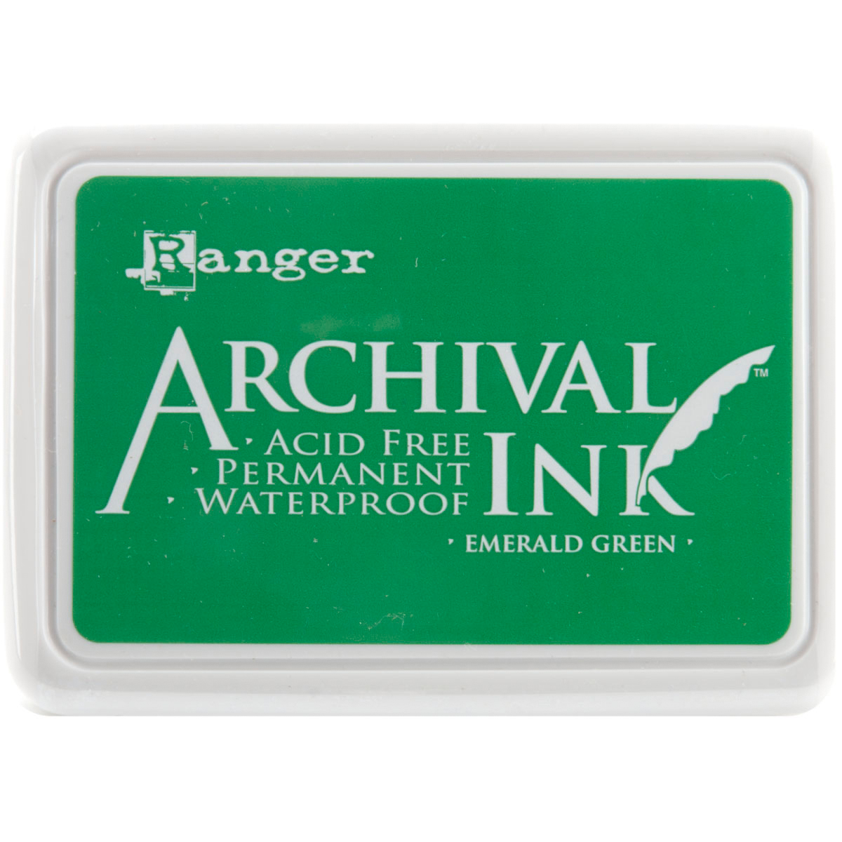 Ranger Archival Ink Pad #0-Emerald Green