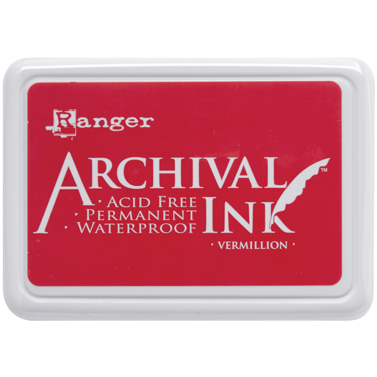 Ranger Archival Ink Pad #0-Vermillion