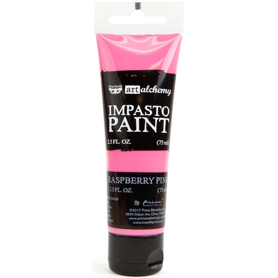 Finnabair Art Alchemy Impasto Paint 2.5 Fluid Ounces-Raspberry Pink
