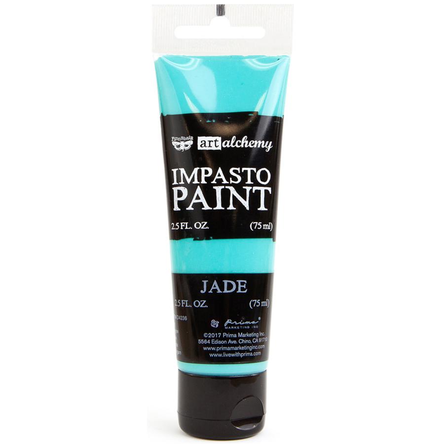 Finnabair Art Alchemy Impasto Paint 2.5 Fluid Ounces-Jade