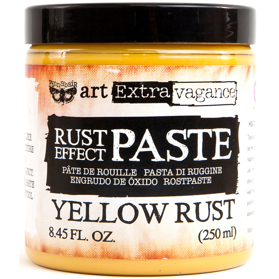 Finnabair Yellow Rust Effect Paste