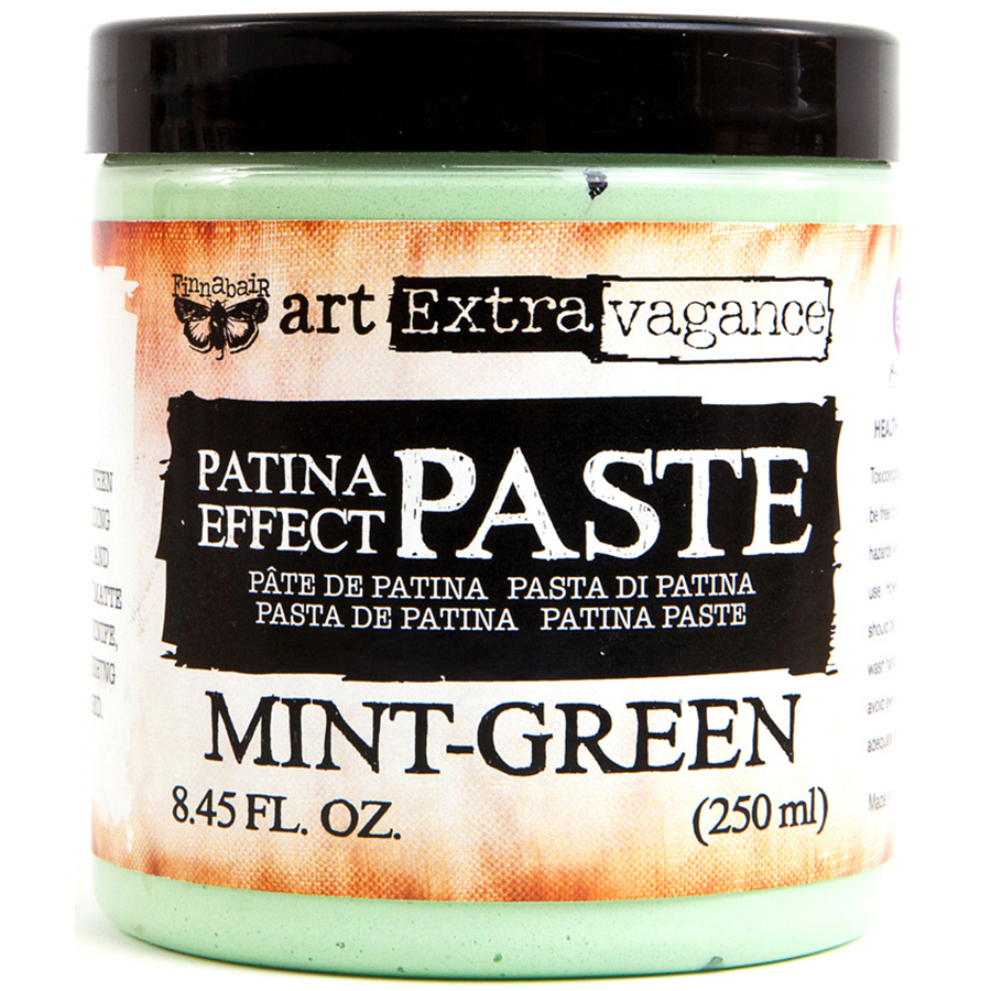Mint Green Finnabair Patina Effect Paste
