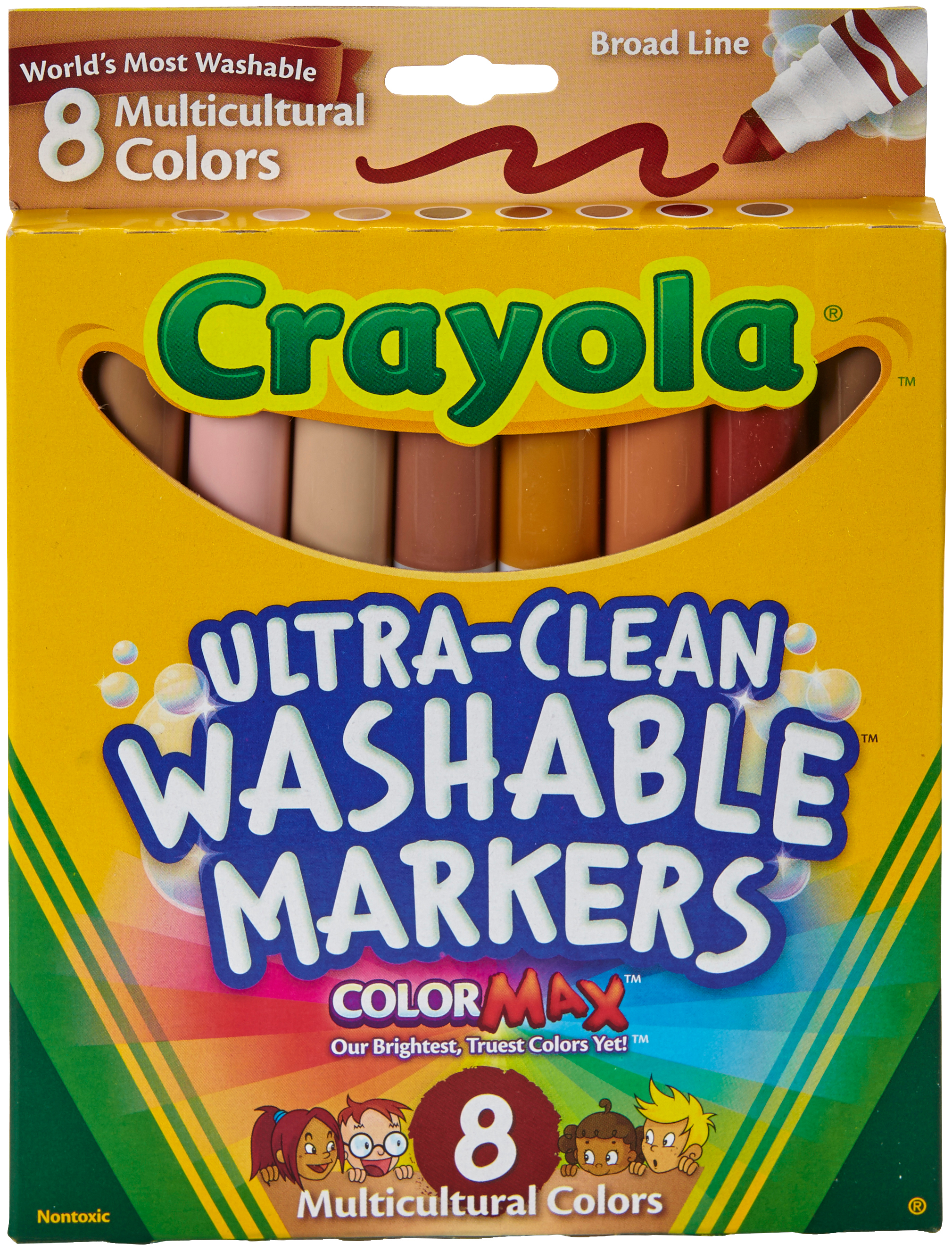 WASHABLE MARKERS 8/P