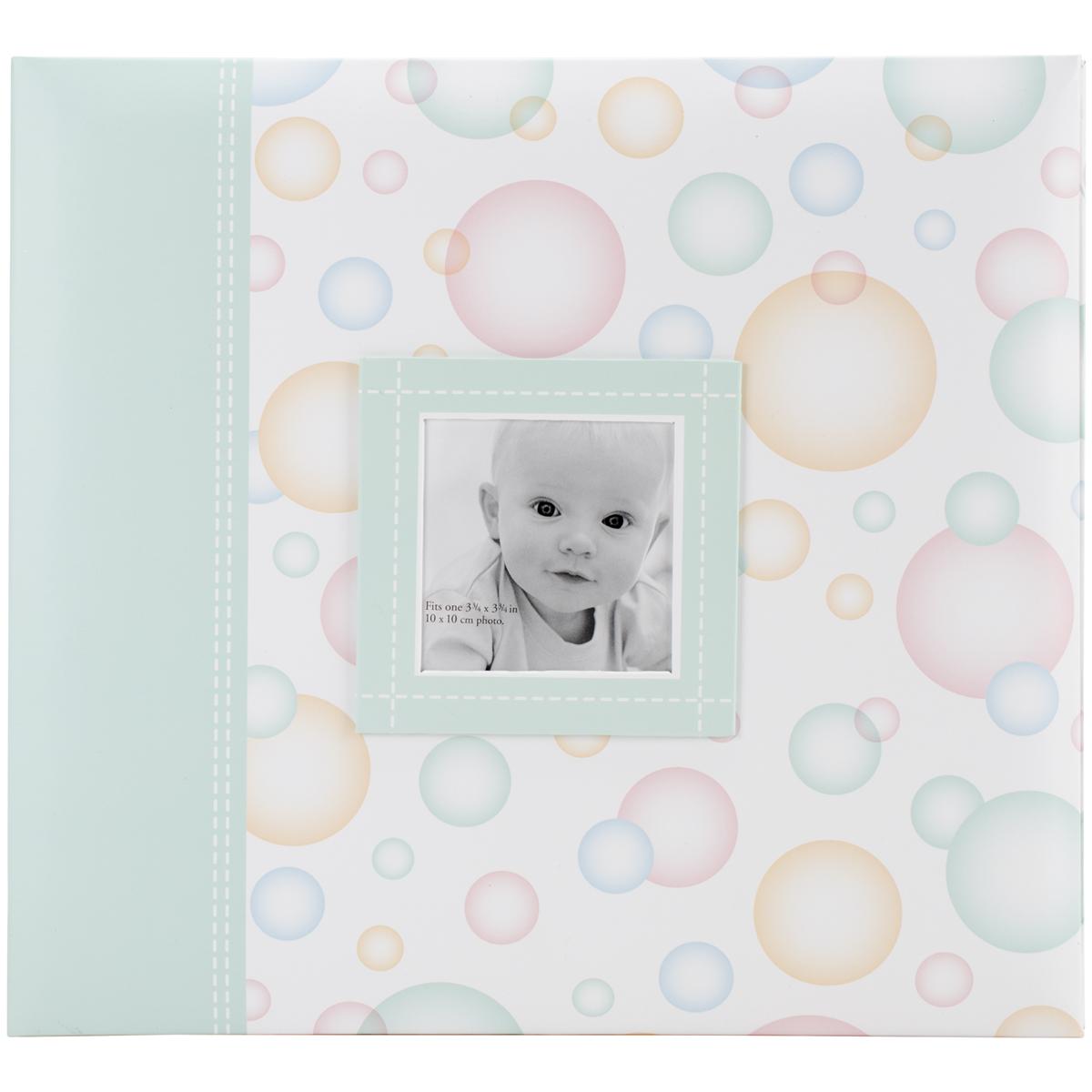 Baby Post Bound Album Bubbles