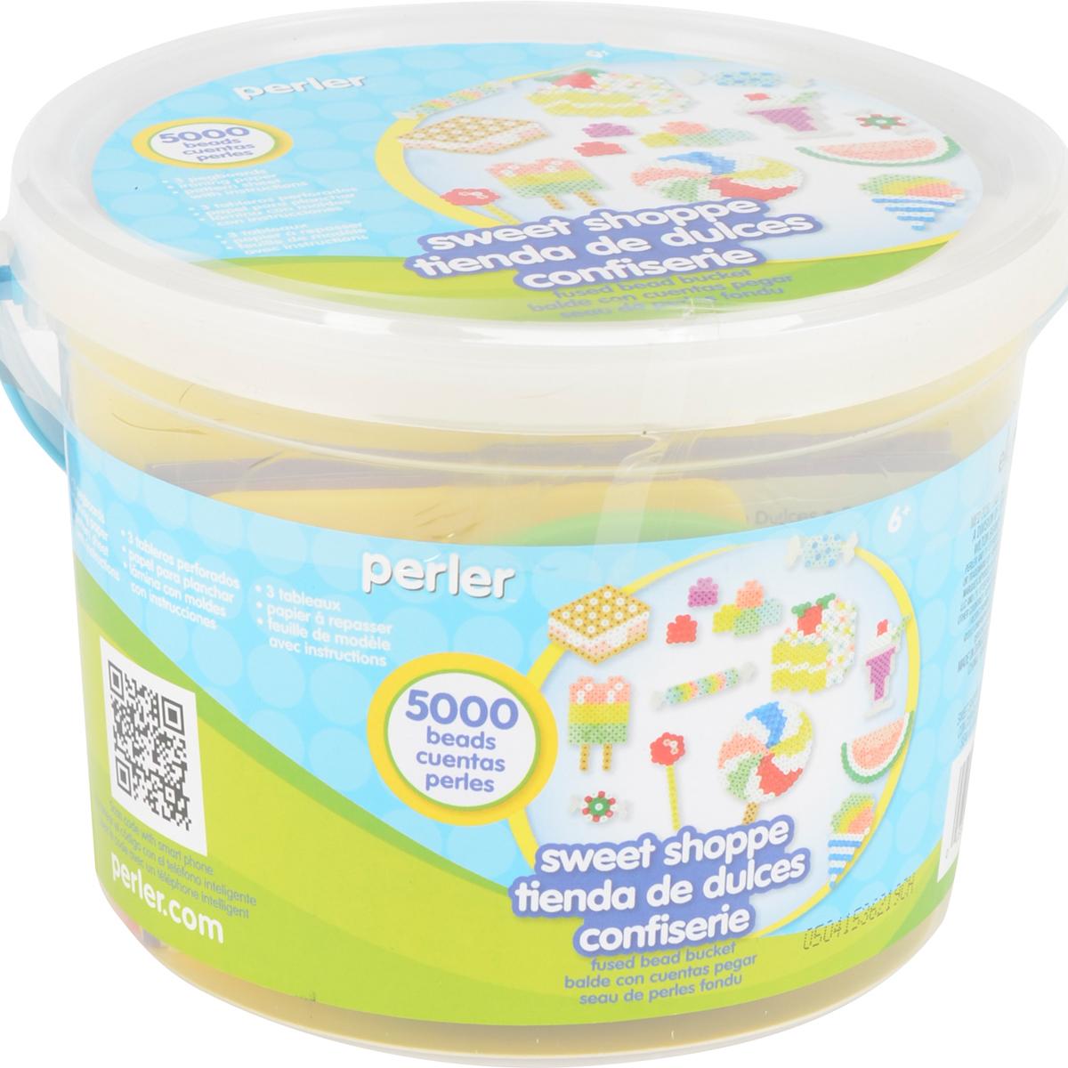 Perler Fused Bead Bucket Kit-Sweet Shoppe