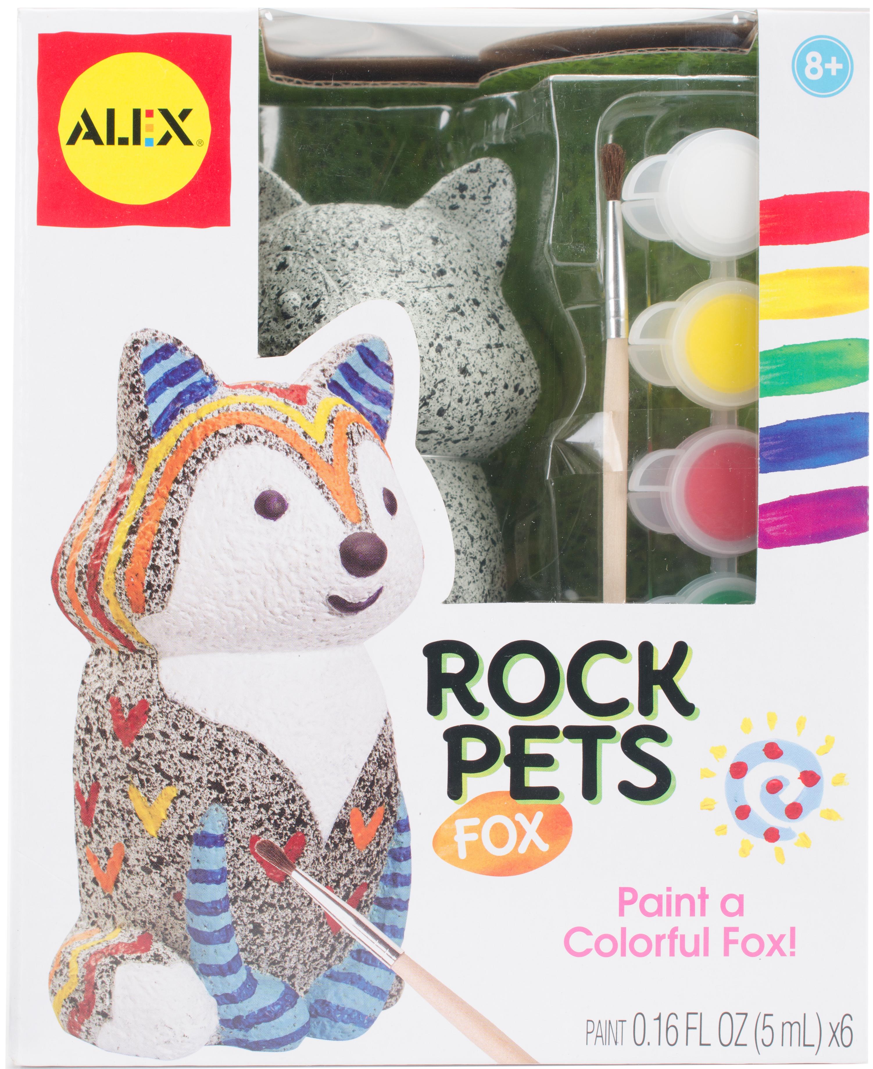 FOX       -PAINT A ROCKPET