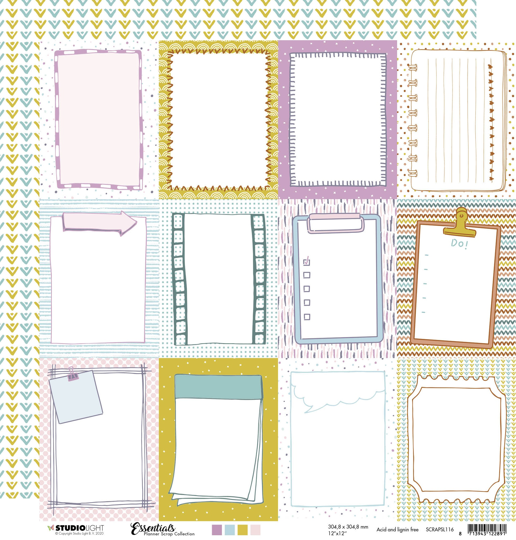 Studio Light Essentials Planner Collection 116