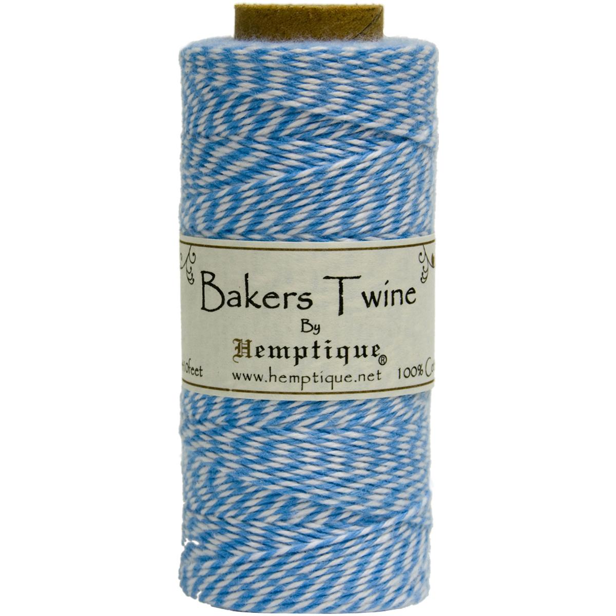 Hemptique Cotton Baker's Twine Spool 2-Ply 410'-Blue