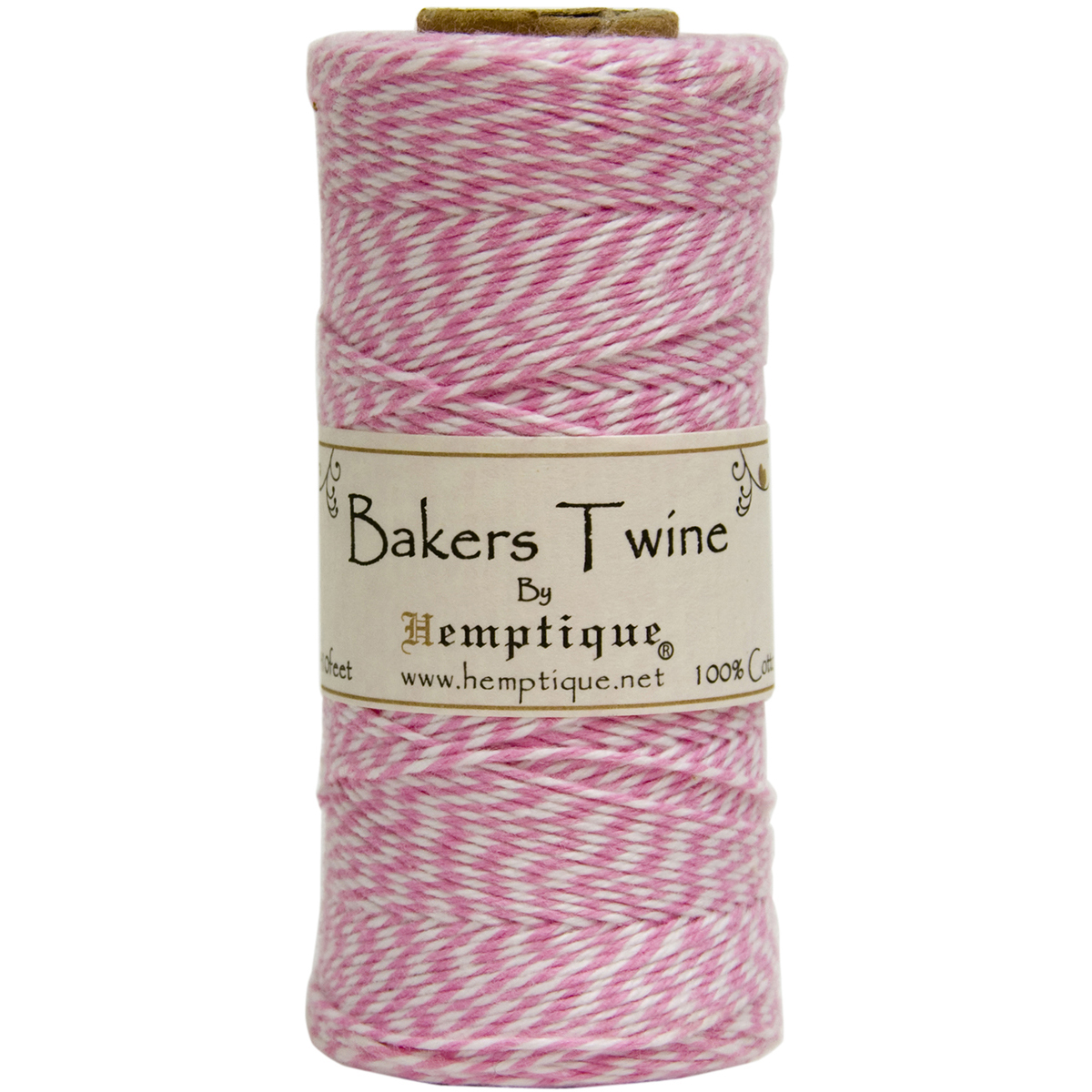LT PINK/WH-BAKERS TWINE SPOOL