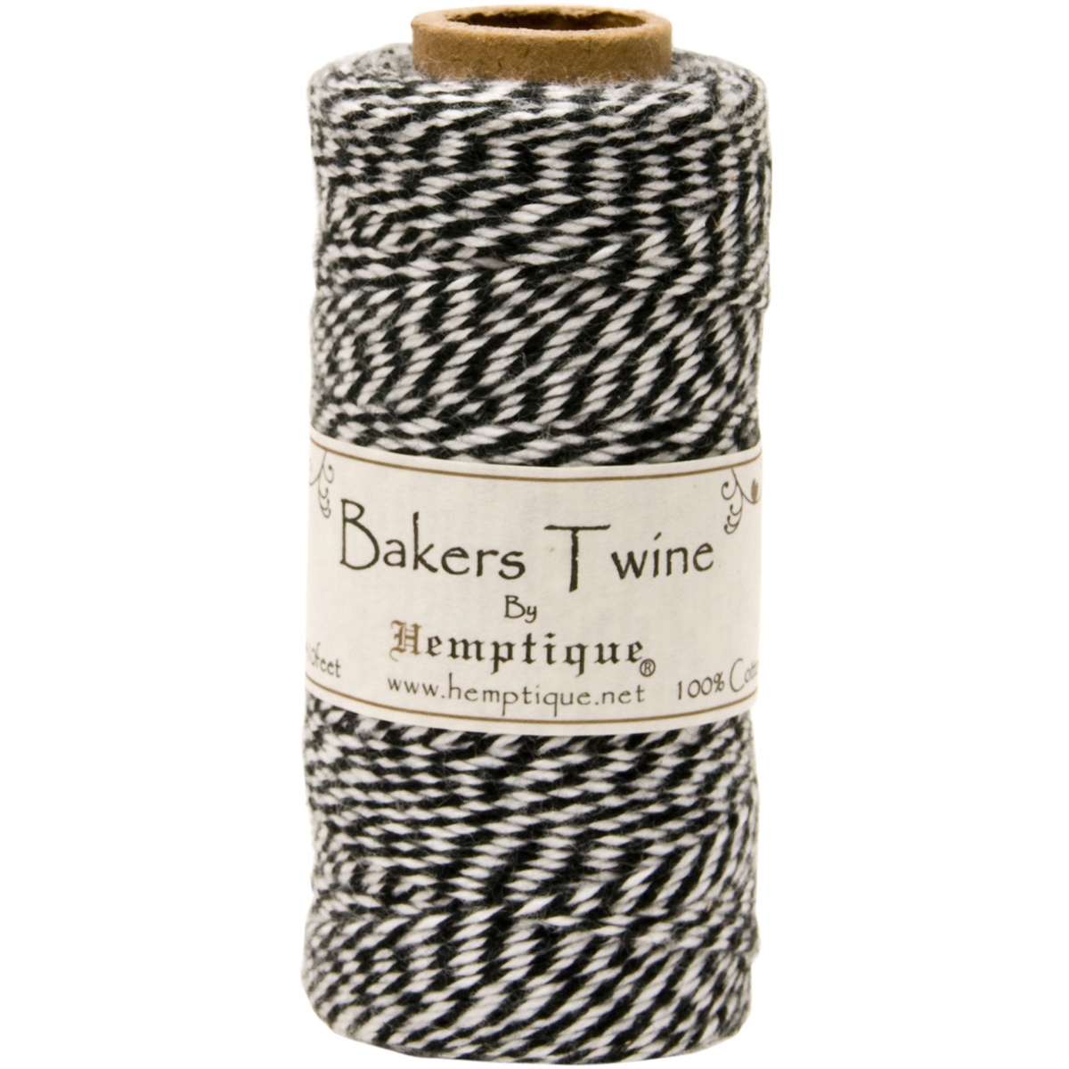 BLACK/WHITE -BAKERS TWINE SPOOL