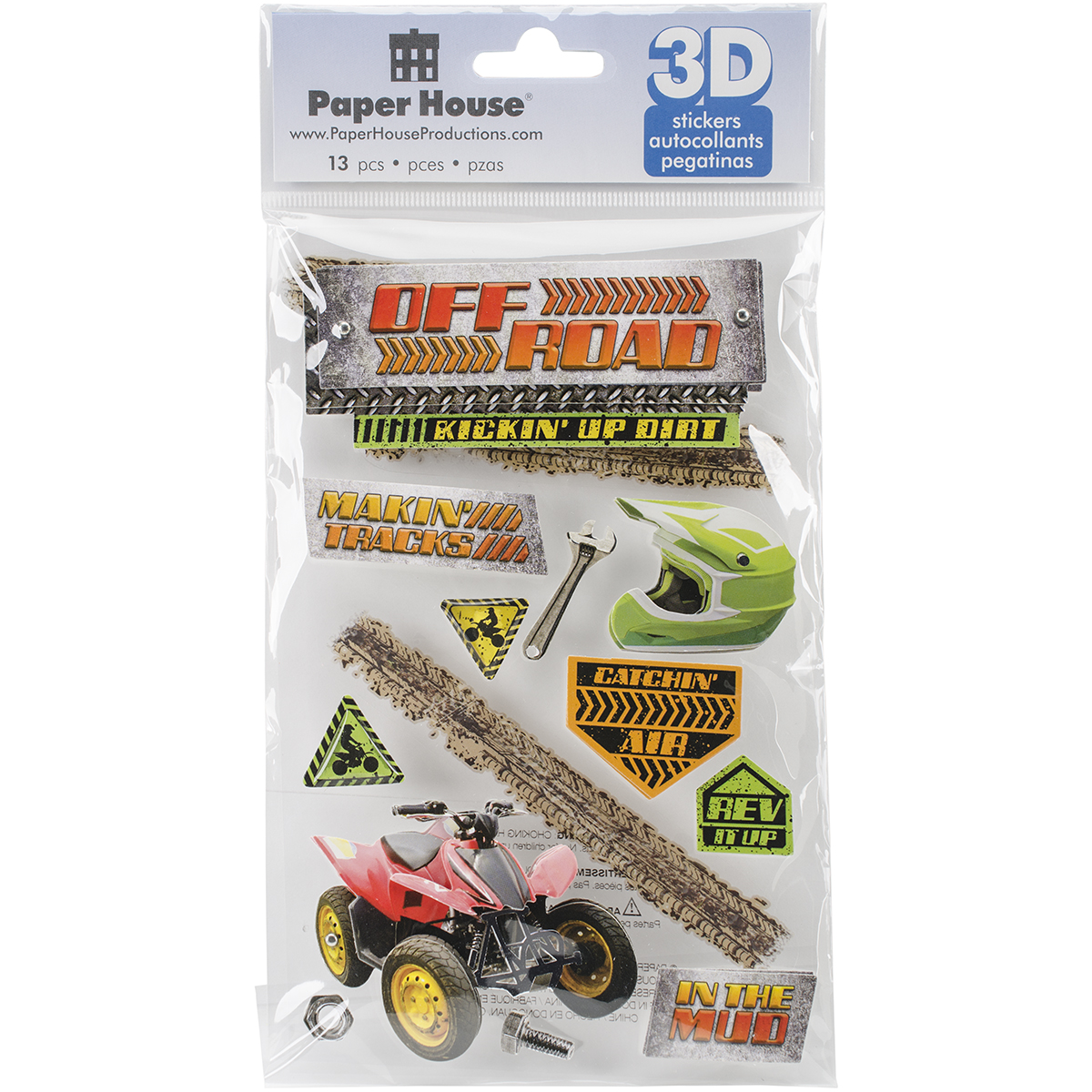 OFF ROAD  -3D STICKERS