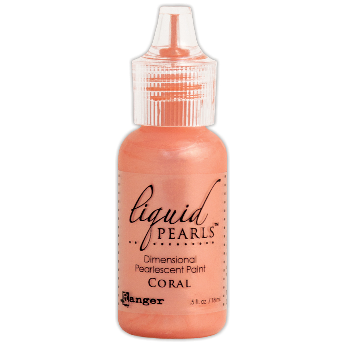 CORAL     -LIQ PEARLS GLUE .5OZ
