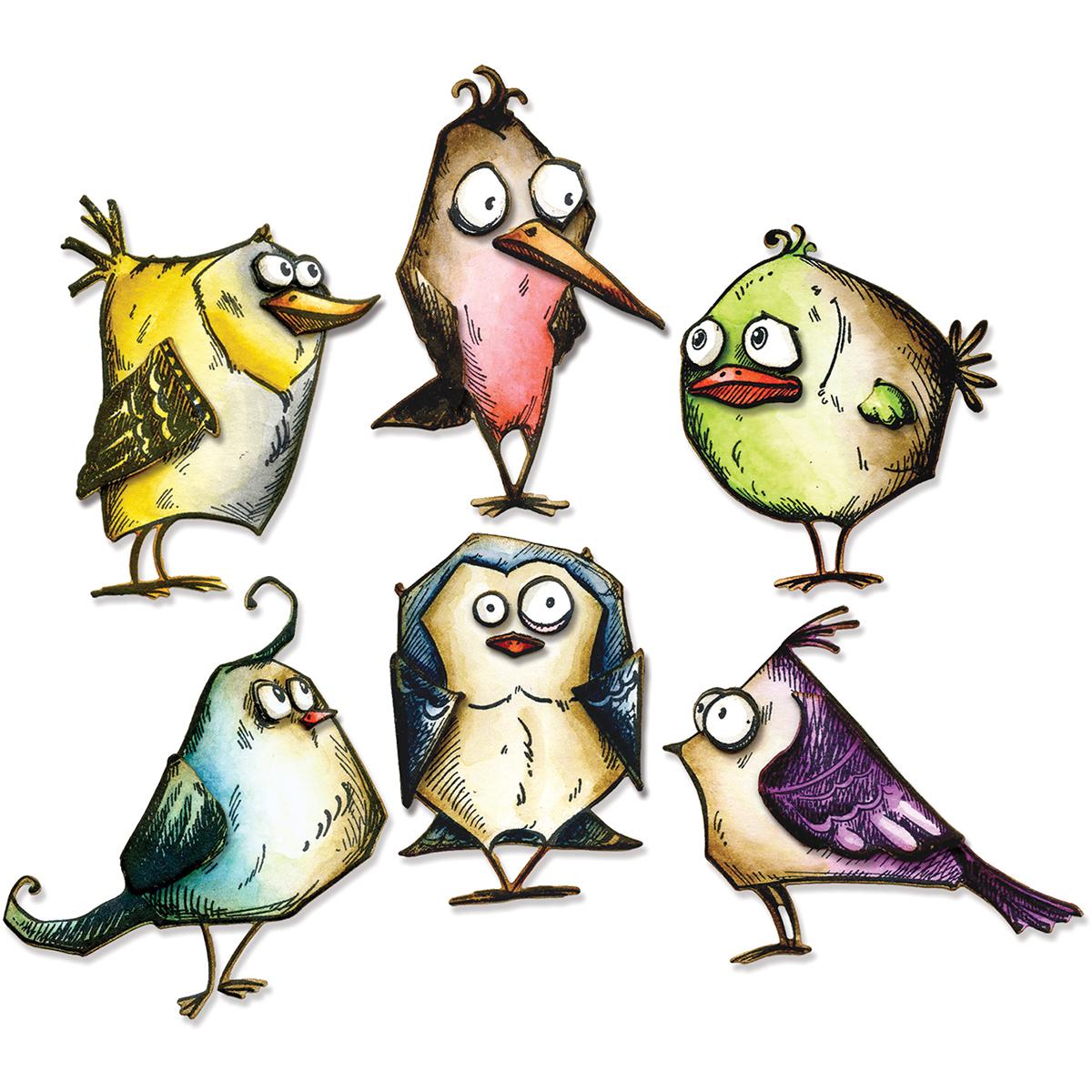 Crazy Birds-Tim Holtz