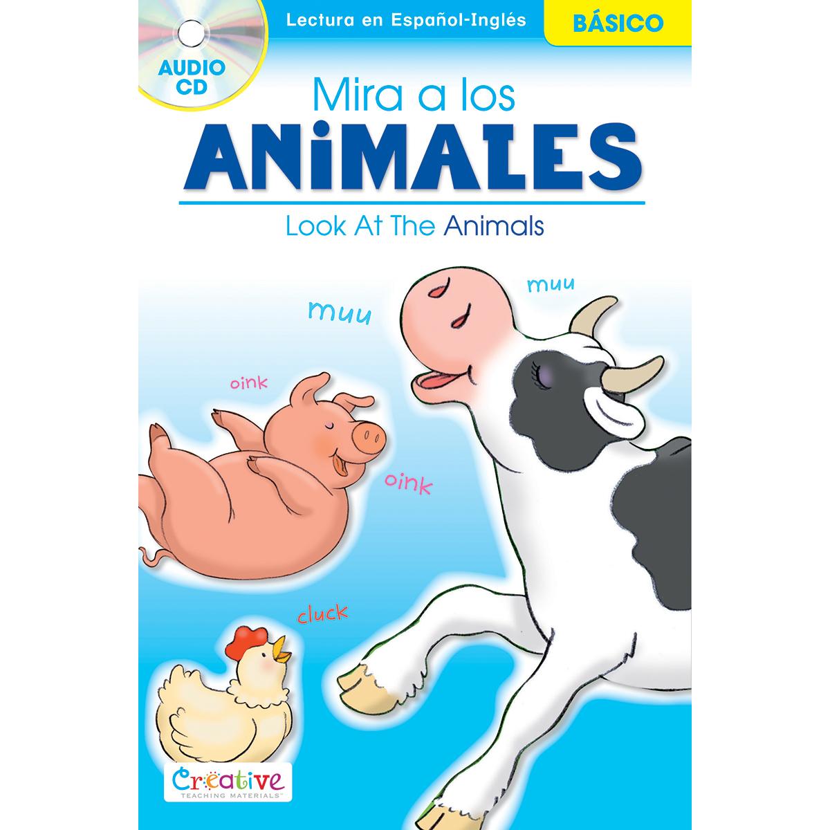 ANIMALS   -SPANISH ENGLISH BOOK