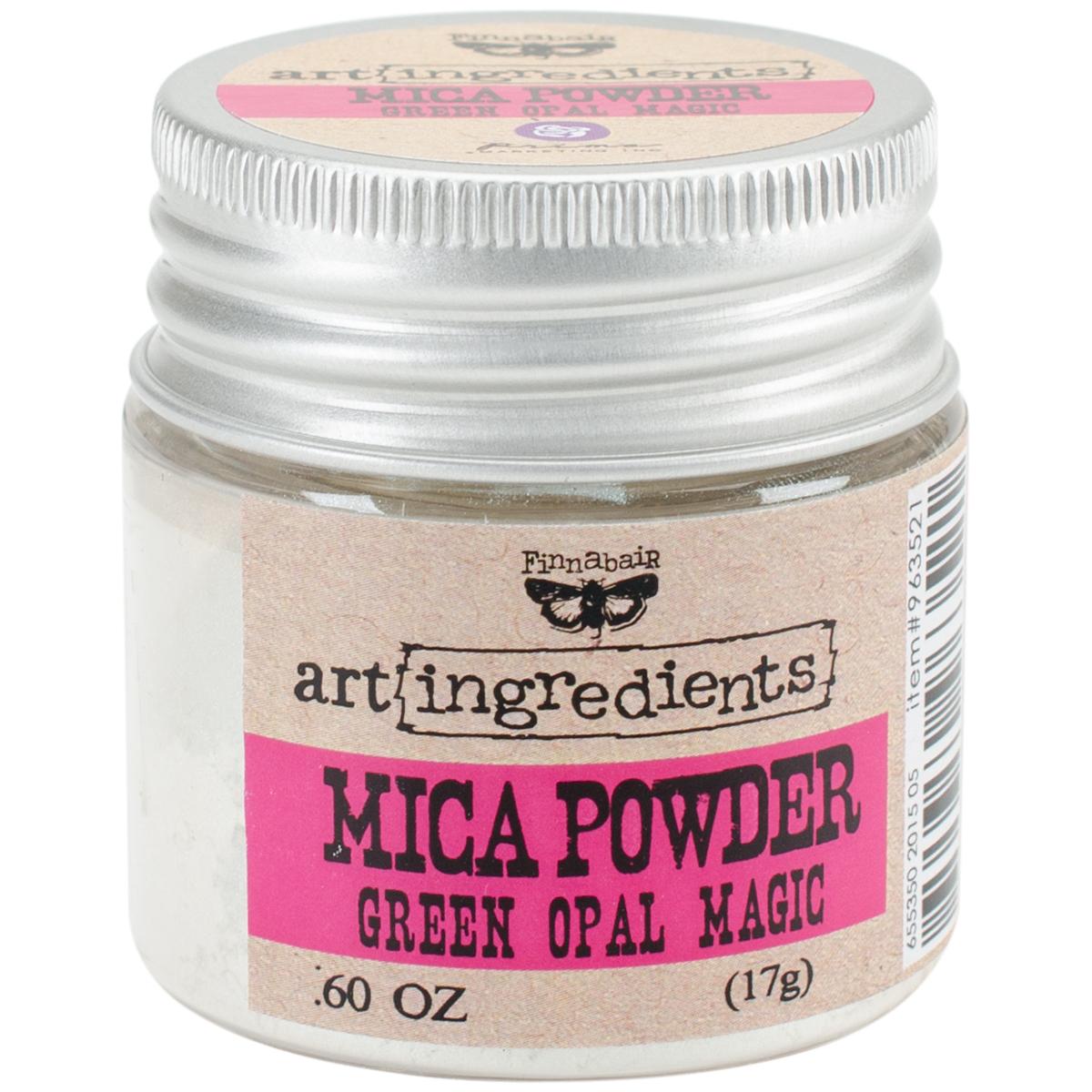 Mica Powder - Green Opal