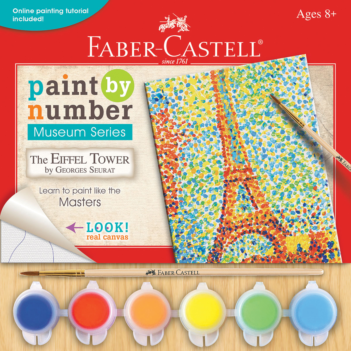 Museum Series Paint By Number Kit 6X8-The Eiffel Tower
