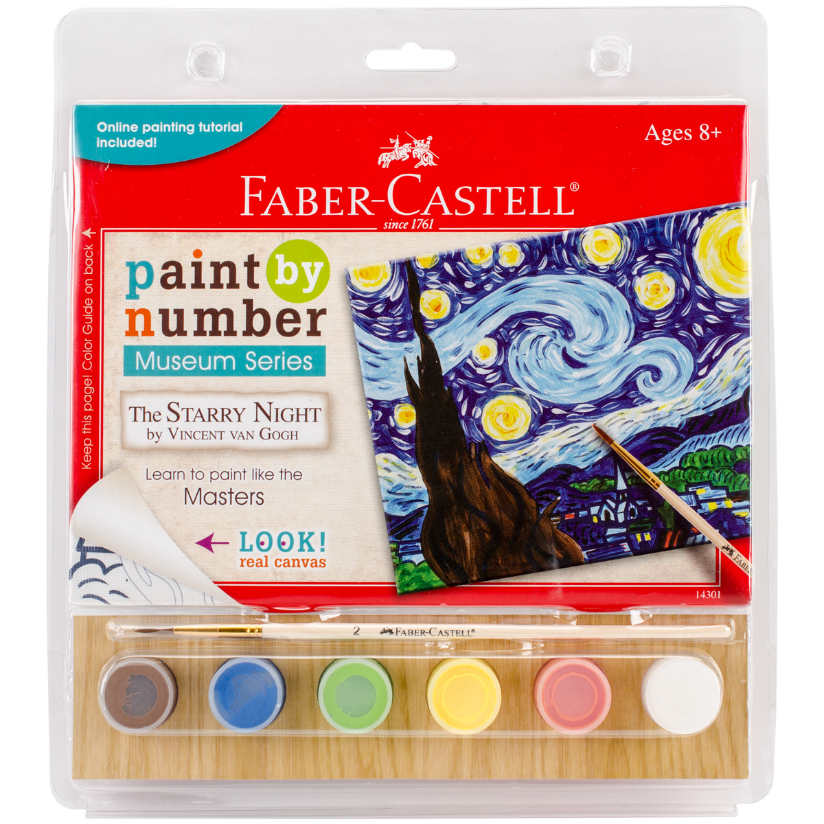 Museum Series Paint By Number Kit 6X8-The Starry Night