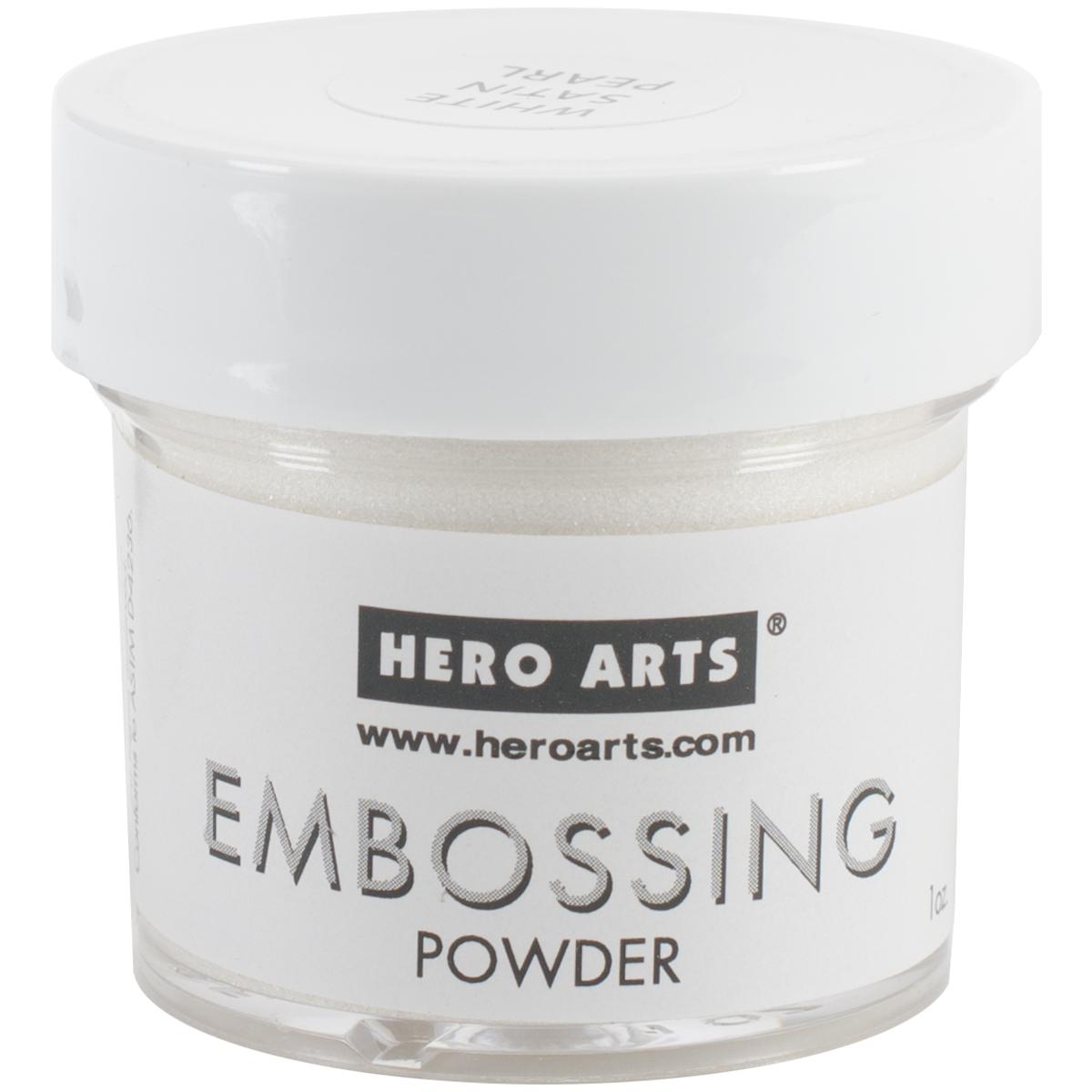 Hero Arts Embossing Powder -White Satin Pearl