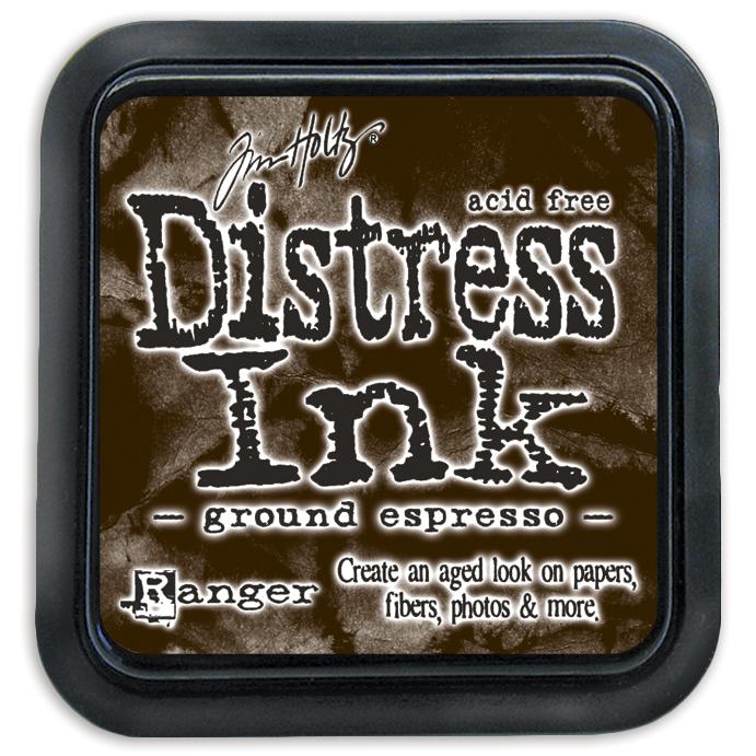 Tim Holtz Distress Ink Pad-Ground Espresso