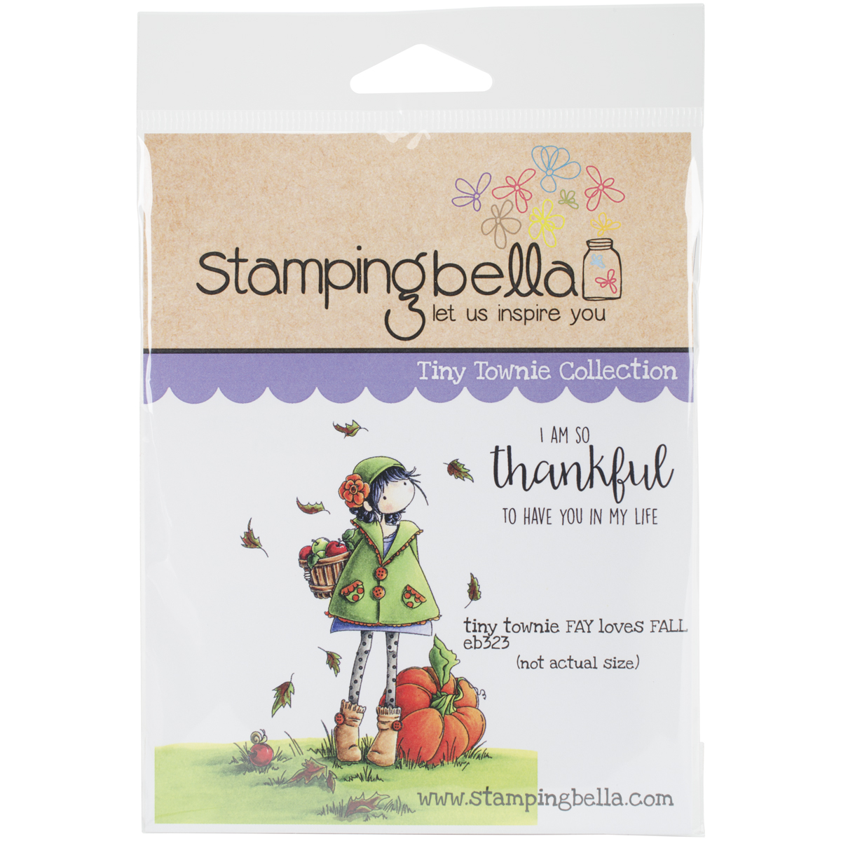 Stamping Bella Cling Stamps-Fay Loves Fall