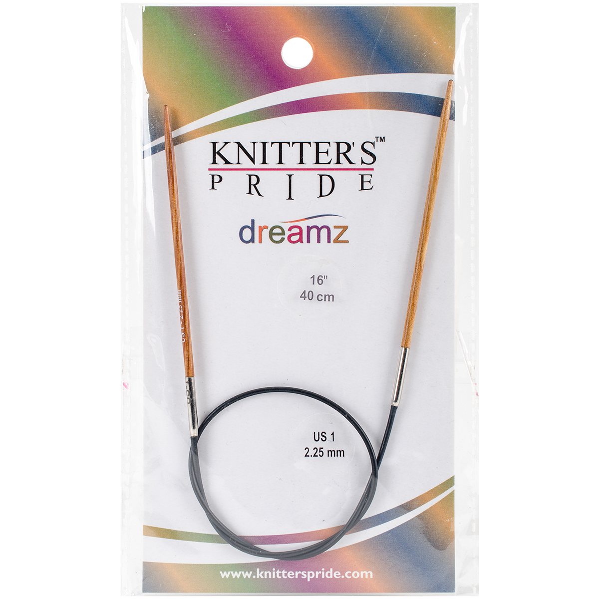 Knitter's Pride-Dreamz Fixed Circular Needles 16-Size 1/2.25mm