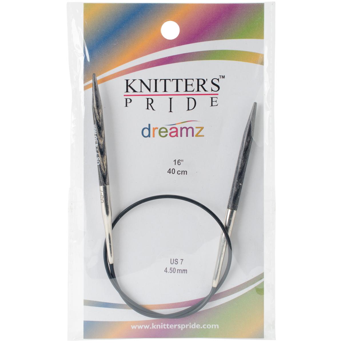 Dreamz Fixed Circular Needles 16-Size 7/4.5mm