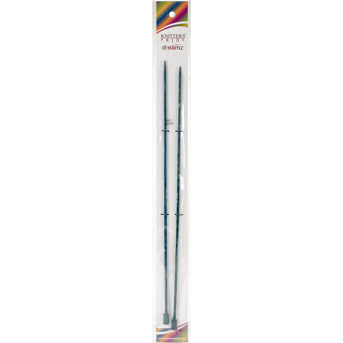 Dreamz Single Pointed Needles 14-Size 3/3.25mm