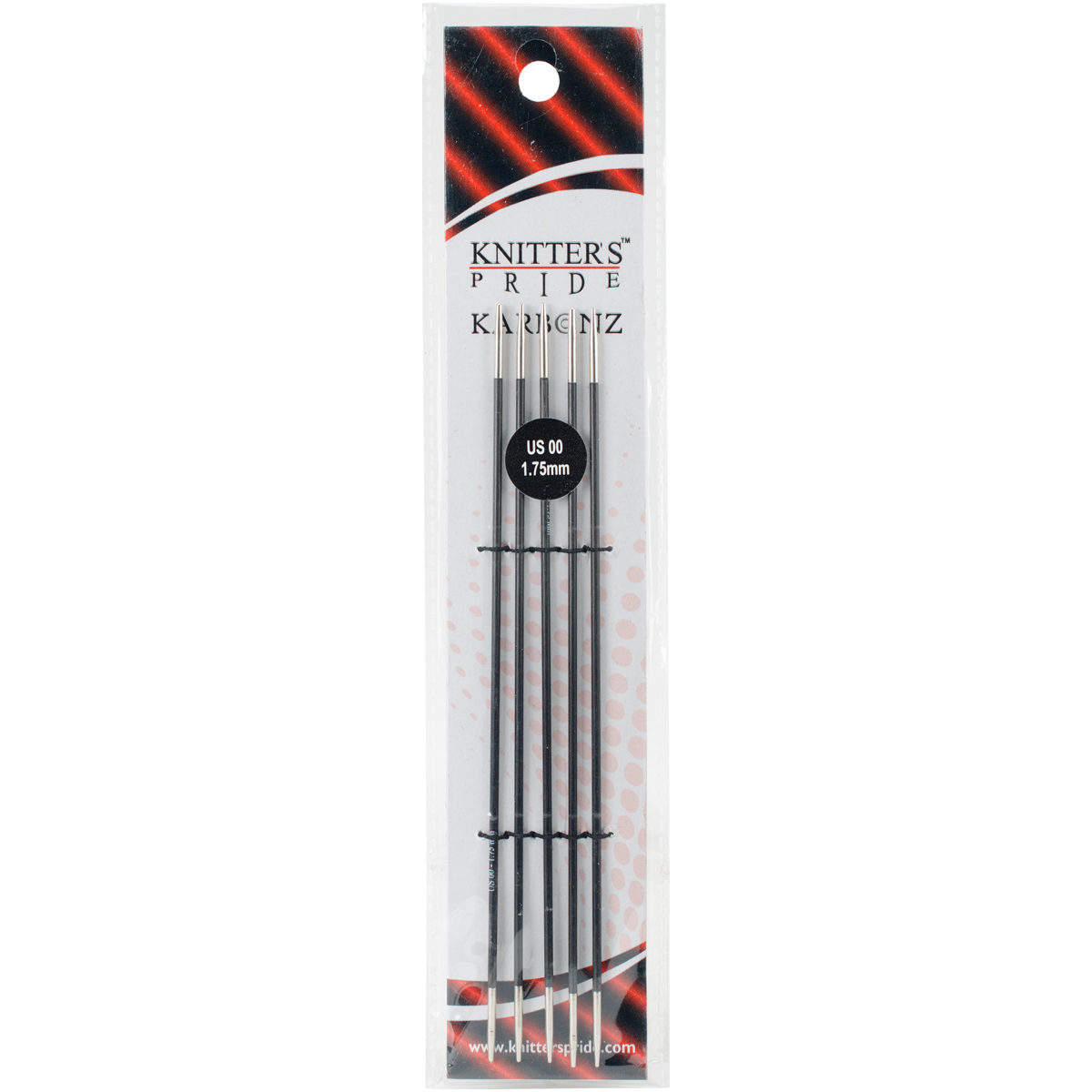 Knitter's Pride-Karbonz Double Pointed Needles 6-Size 00/1.75mm