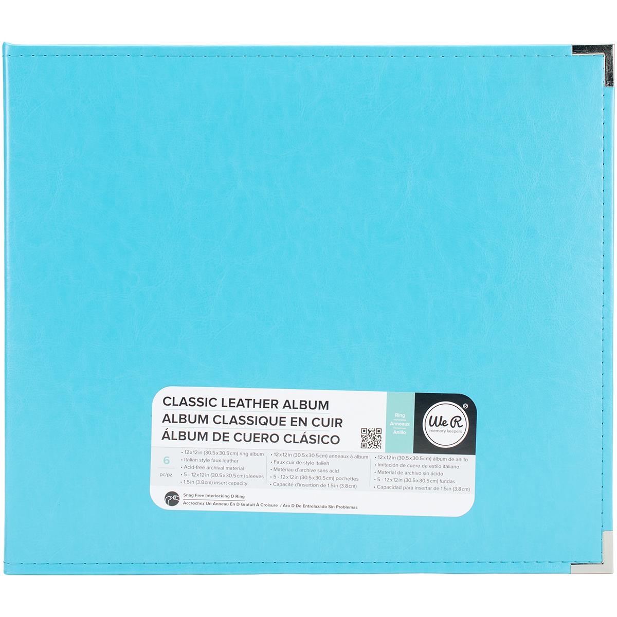 Aqua 12X12 Ring Album