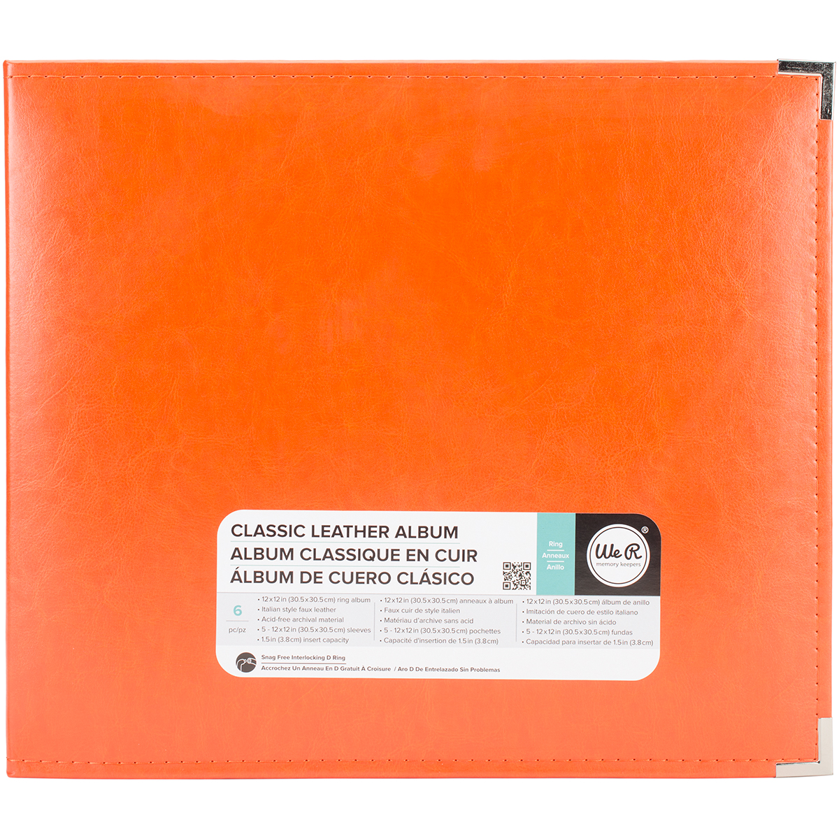 Orange Soda 12x12 Ring Album