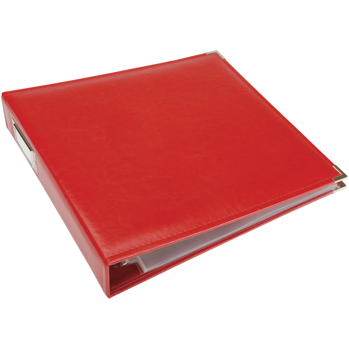 ALBUM-12X12 3-RING RED