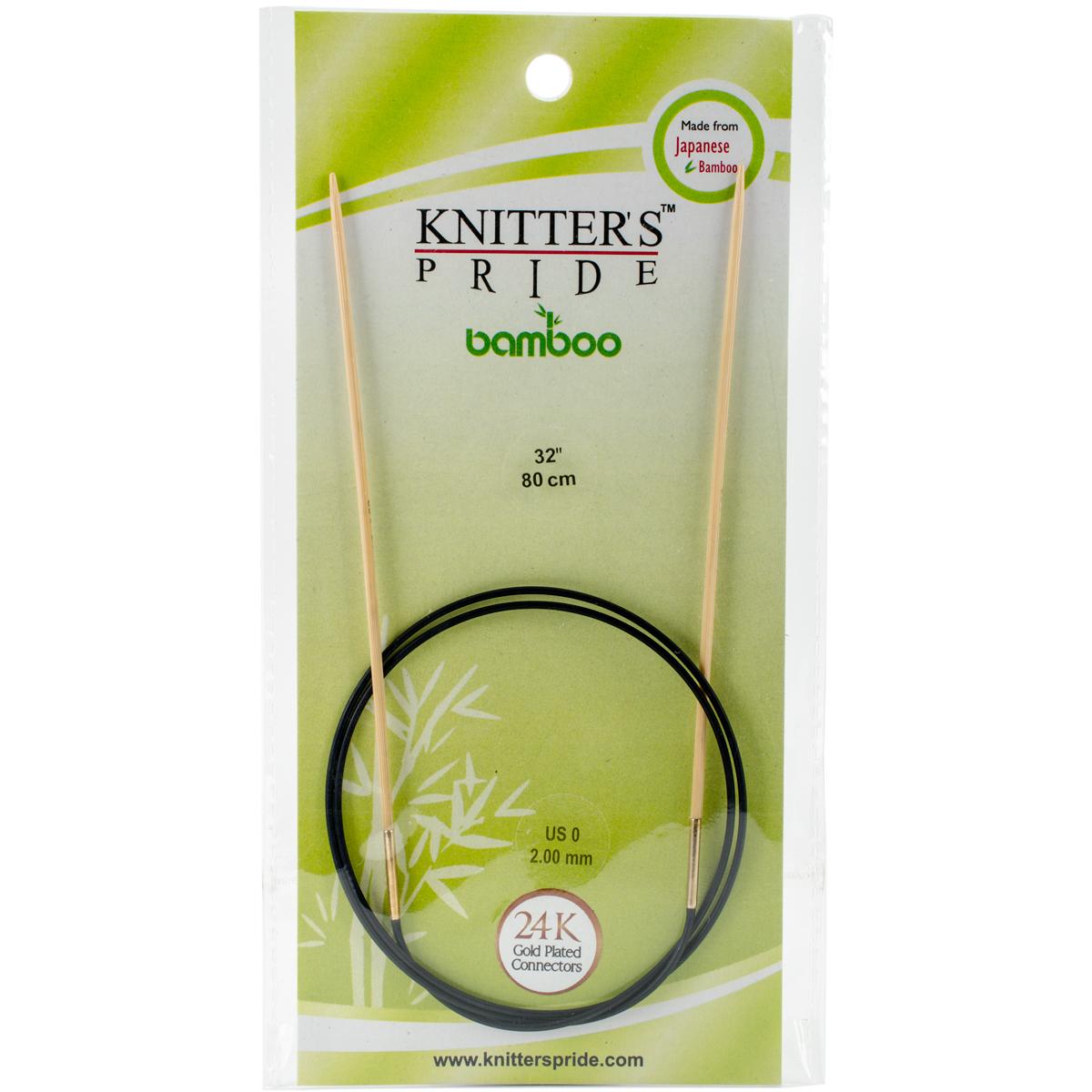 Knitter's Pride Bamboo Fixed Circular Needles 32