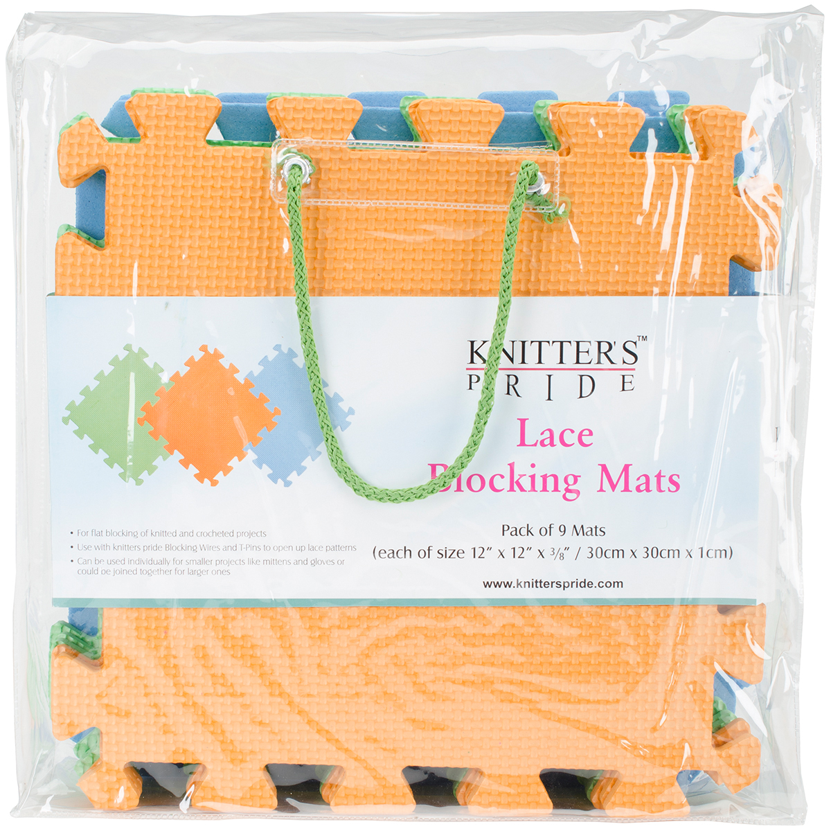Knitter's Pride Lace Blocking Mats 9/Pkg-