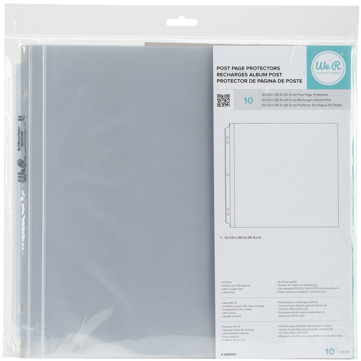 American Crafts-full page photo sleeves