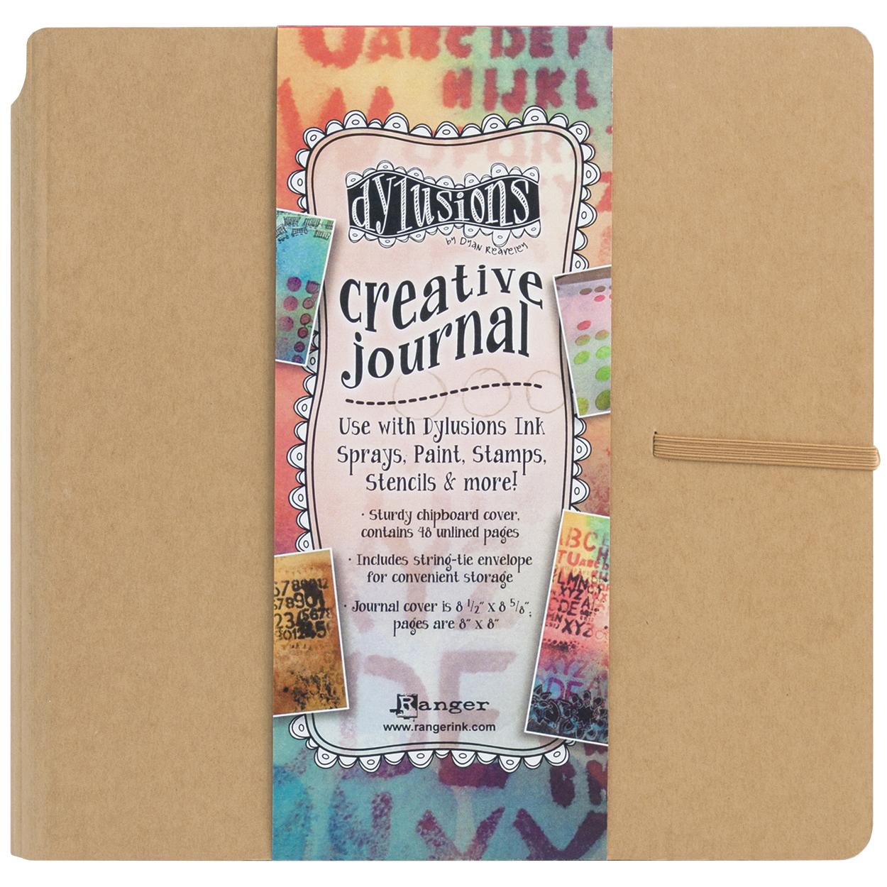 Dylusions journal créatif - Creative Journal
