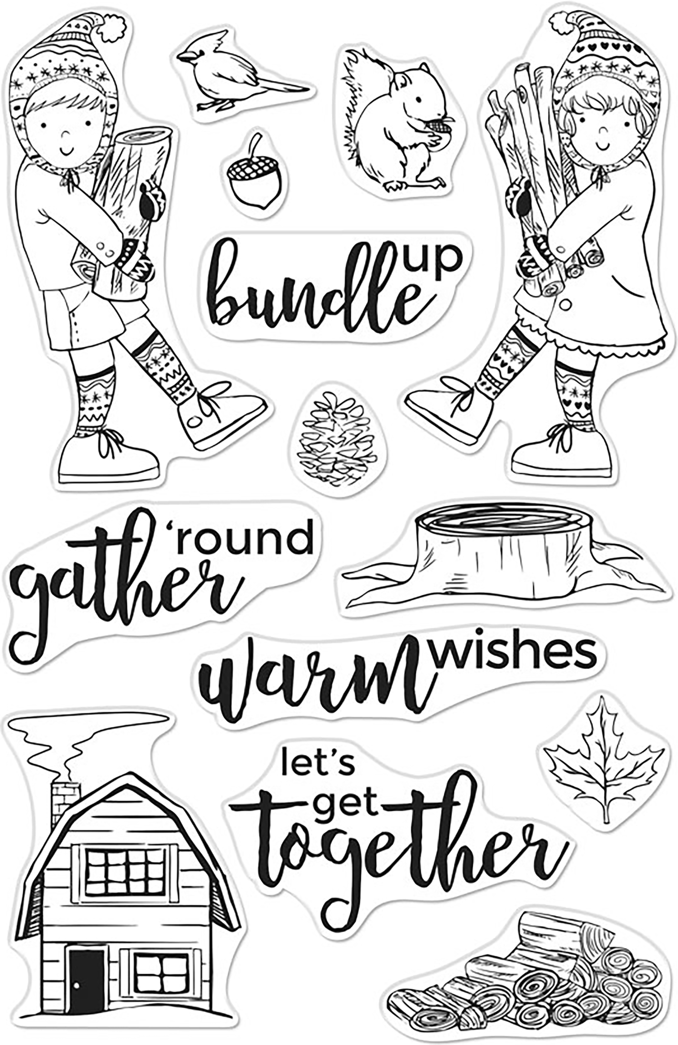 Bundle Up Stamps